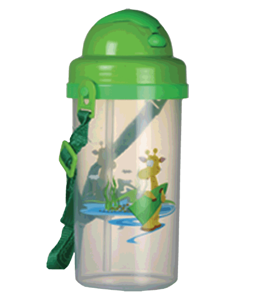 School Push Bottle with belt