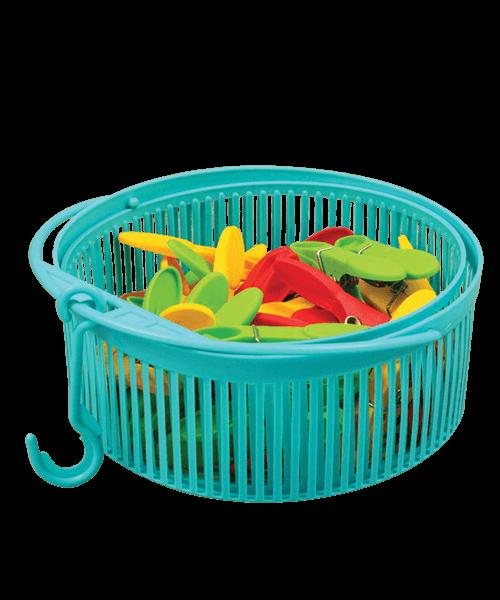 Laundry Clip Basket