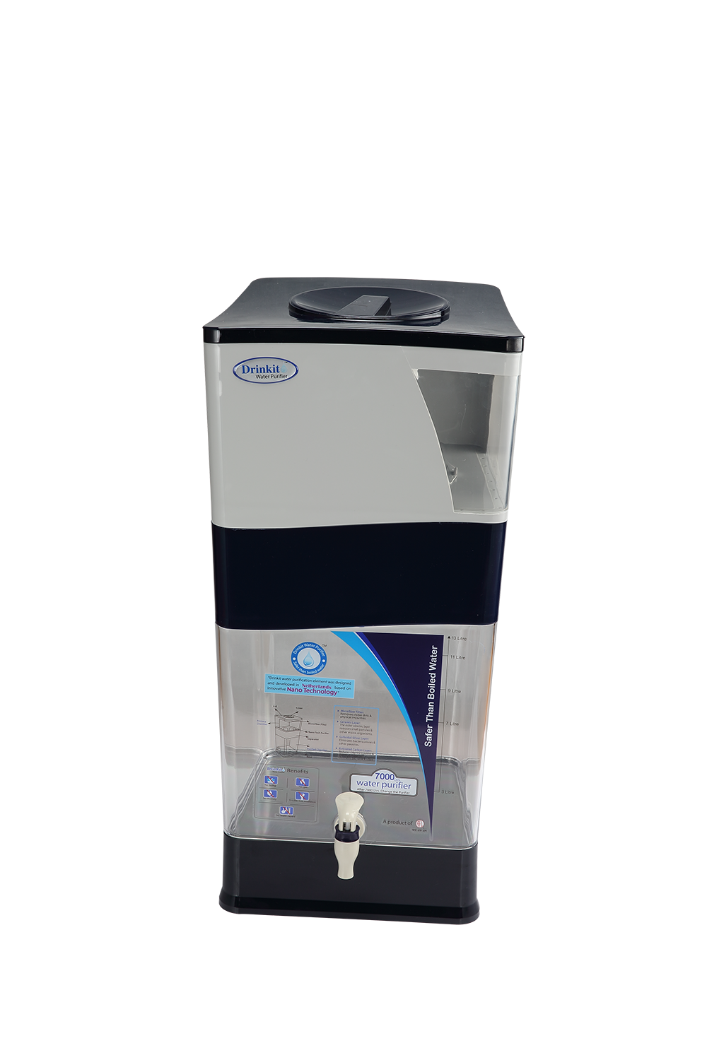 Drinkit Water Purifier – Blue